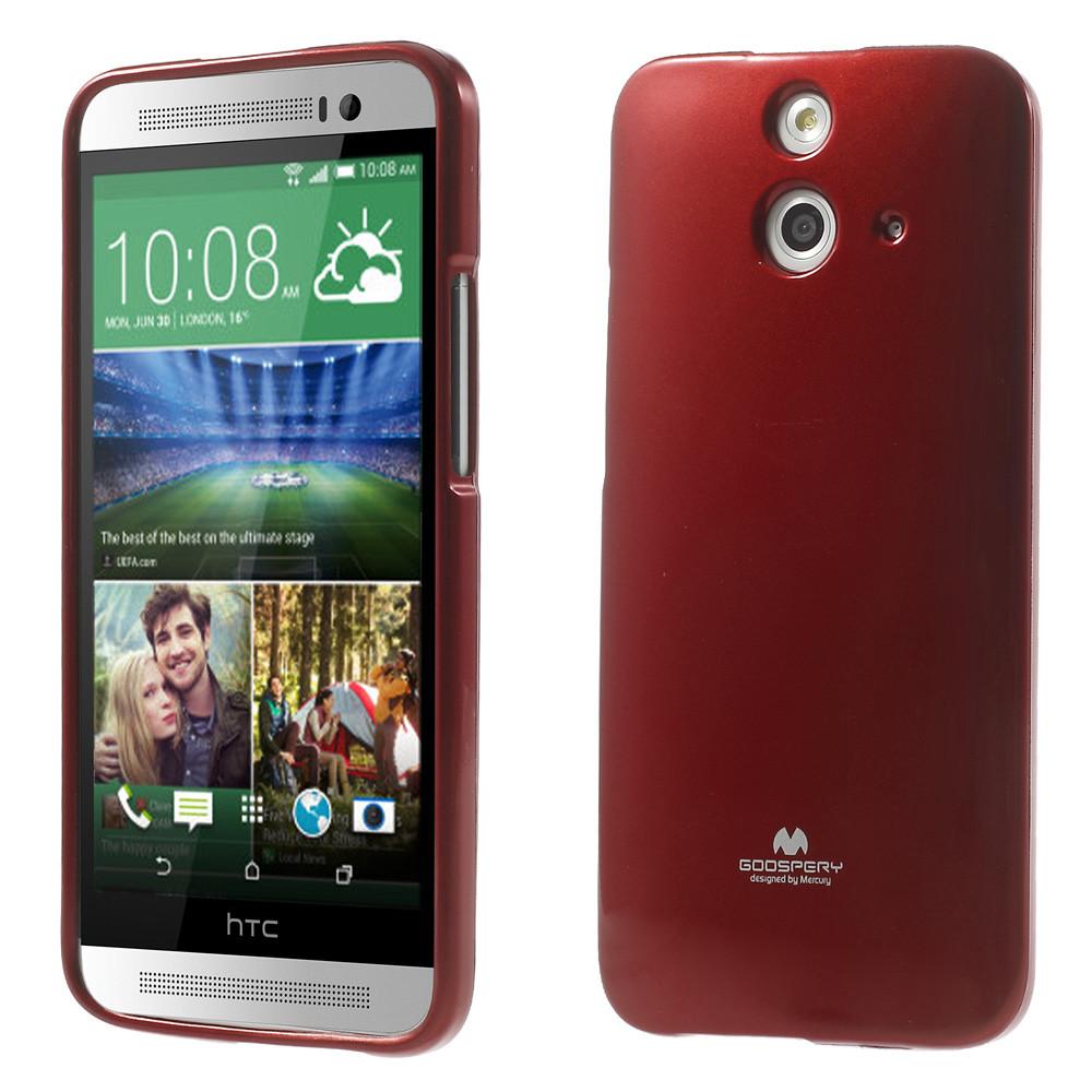 Чехол накладка силиконовый TPU Mercury для HTC One E8 Dual красный