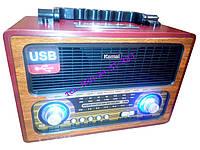 Радио приёмник ретро Kemai MD-1800 BT, фото 1