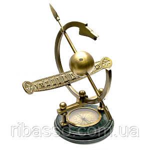 Солнечные часы с компасом 34х36х35 см 26567