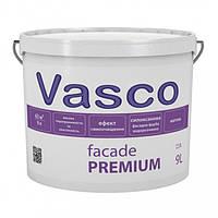 Vasco Facade Premium 9 л фасадна фарба, модифікована силоксаном