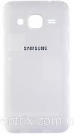 Задняя крышка для Samsung G360 Galaxy Core Prime VE LTE, G361H, белая, оригинал