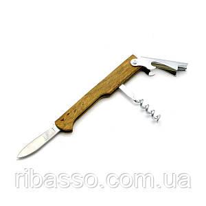 Барменский нож-штопор 3 в 1 11х2,5х1,5см 27166