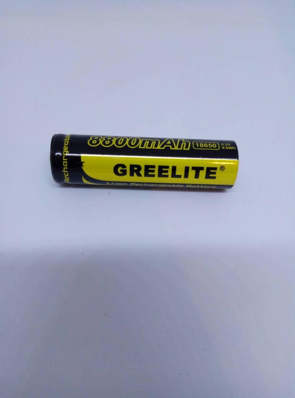 GREELITE 18650 8800mA (реальная емкость 800mA)