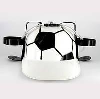 Шлем для напитков Веселый Роджер на футболе