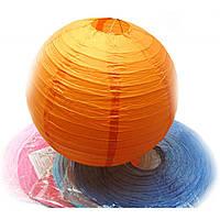 Фонарь цветной бумажный d-41 см 28801