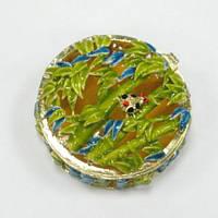 Сувенирная шкатулка из металла Бамбук
