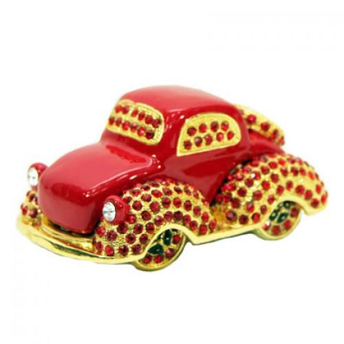 Фигурка шкатулка со стразами Машина