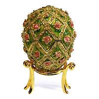 Шкатулка яйцо для женских украшений