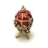 Красива скринька яйце для прикрас, фото 3