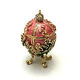 Красива скринька яйце для прикрас, фото 4