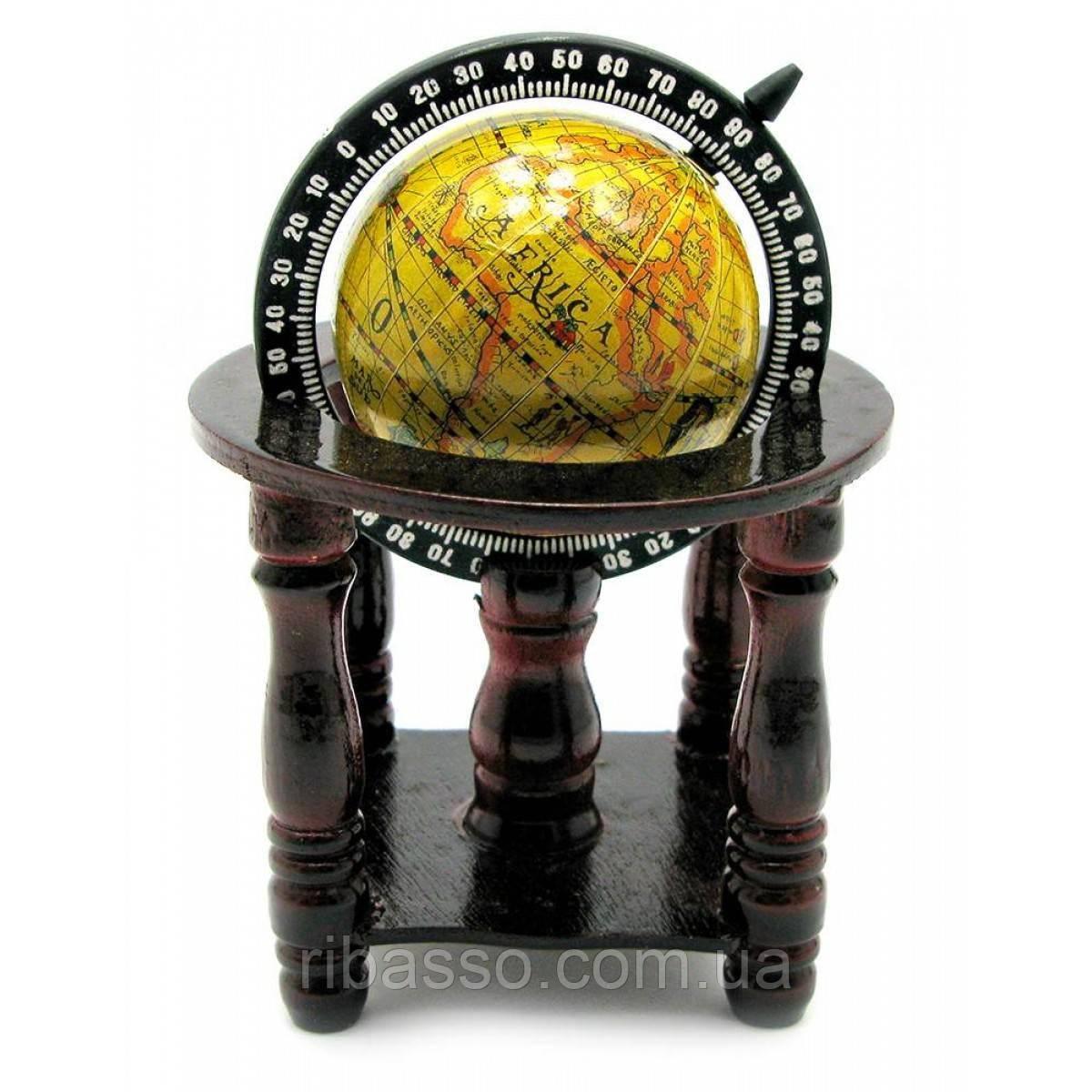 Глобус на подставке 13,5х10х10 см 18736