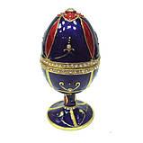 Шкатулка яйцо со стразами для украшений, фото 2