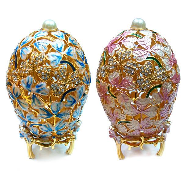 Ажурная шкатулка яйцо для украшений женская