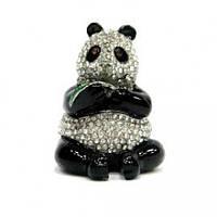 Шкатулка со стразами Медвежонок Панда