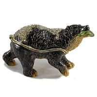 Шкатулка для хранения ювелирных украшений Медведь