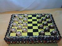 Шахматная доска из конфет