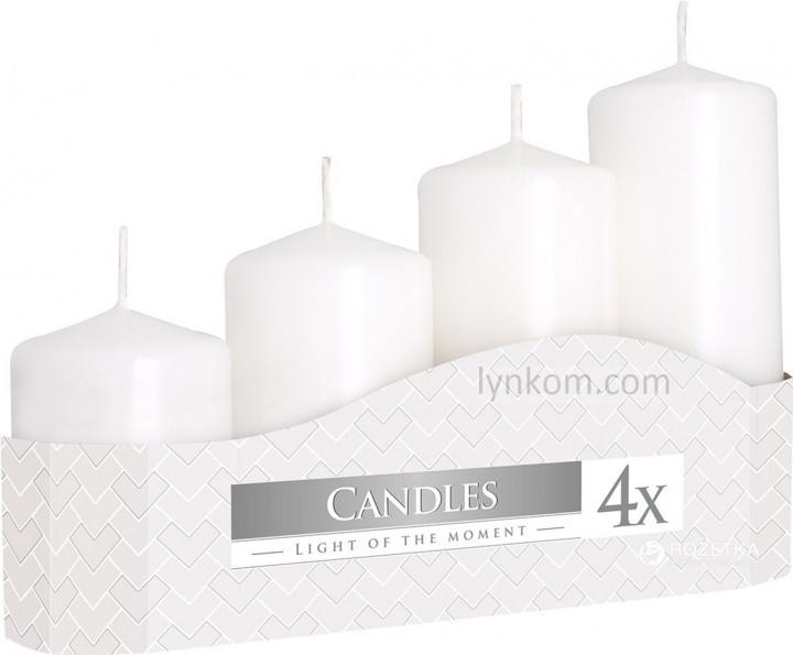 Свечи белые для декупажа (4шт)