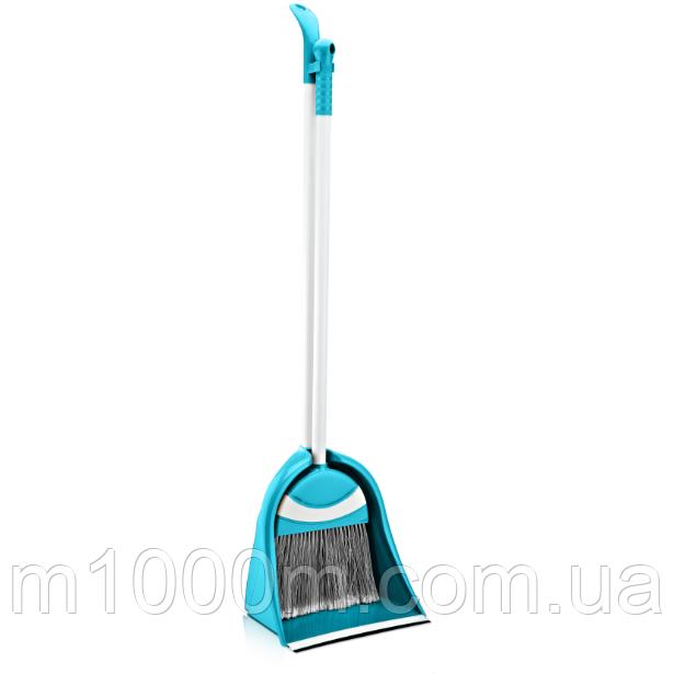 Комплект для уборки Лентяйка Пингвин (щетка с совком), Турция ТЕ-375