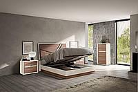 Кровать 154*203 см с ламелями Evolution H, фото 1