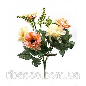 """Букет цветов """"Пион"""" 32 см 25403"""