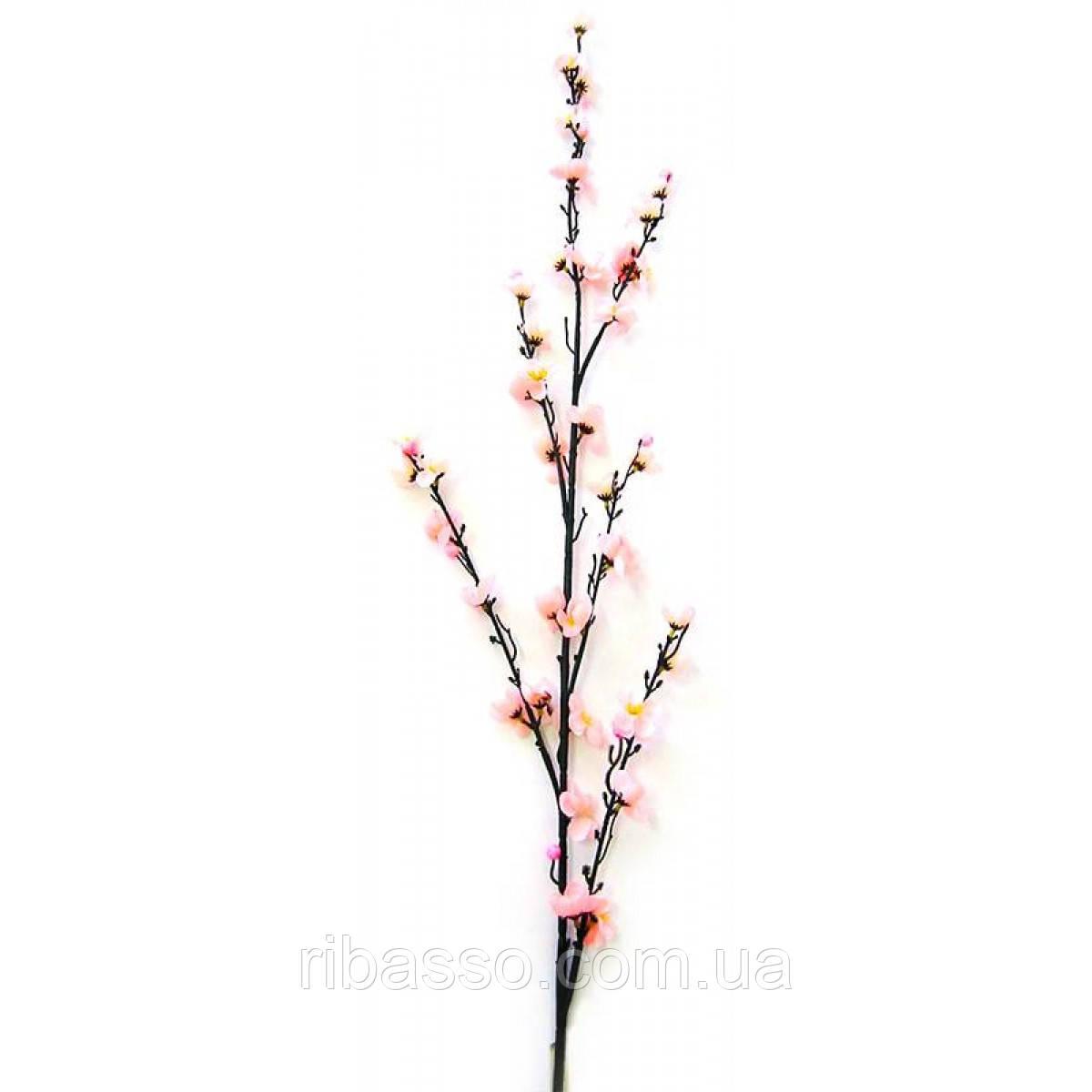 Ветка сакуры розовая 130 см 5шт/уп 20310