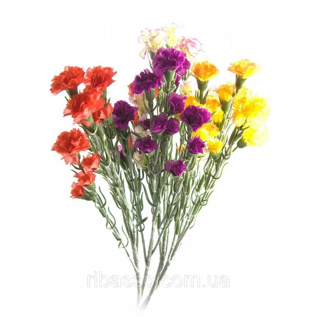 """Цветы """"Гвоздика"""" 60 см 26423"""