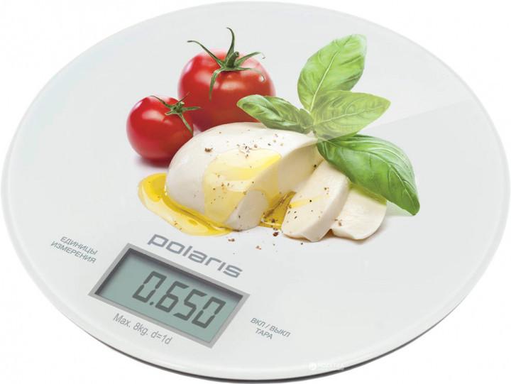 Весы кухонные POLARIS PKS 0835 DG Caprese