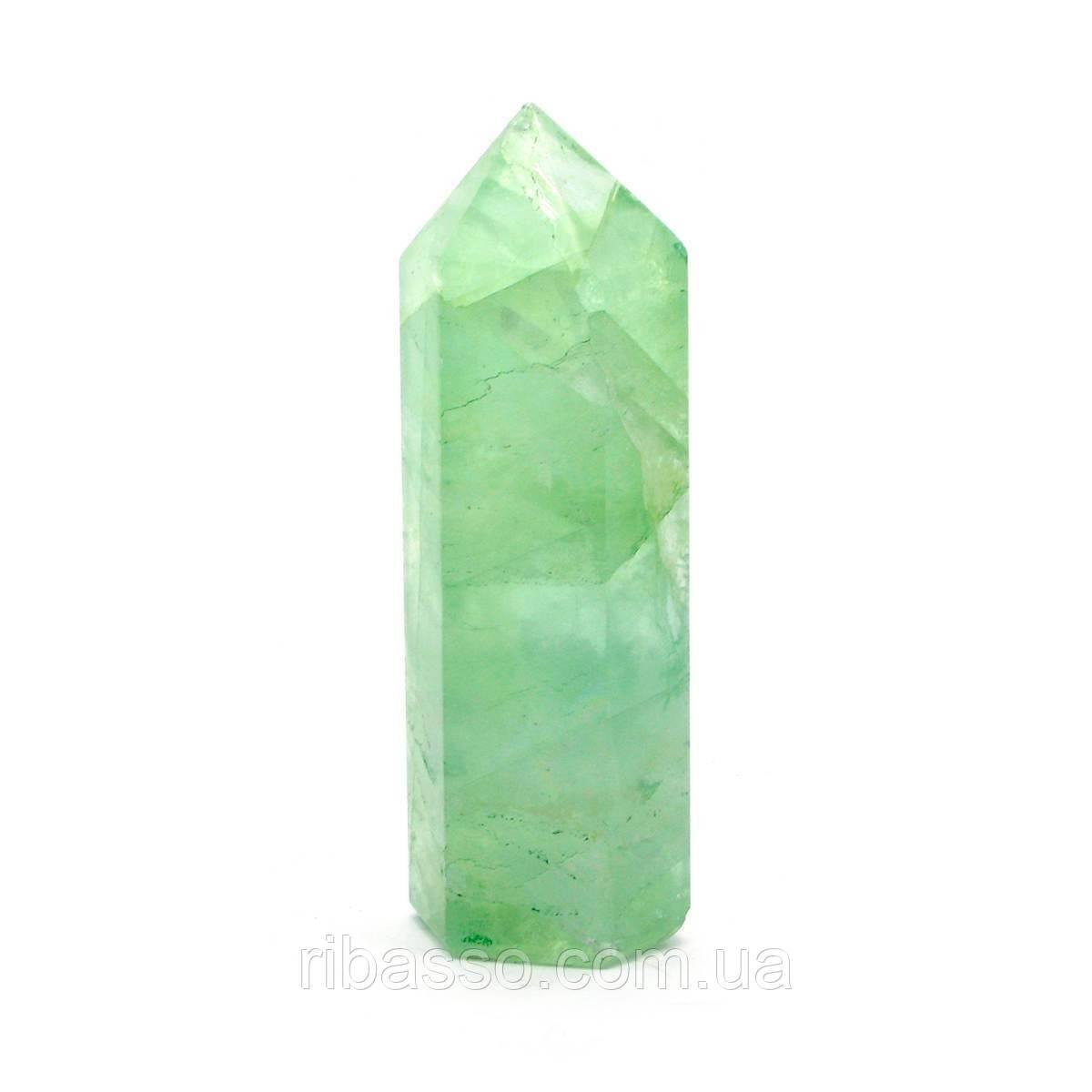 Кристалл зеленый кварц 7 см 27061