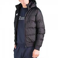 Куртка детская Lotto BOMBER DELTA JR  BLACK/WHITE S9823