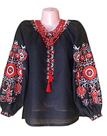 "Жіноча вишита сорочка (блузка) ""Ідоні"" (Женская вышитая рубашка (блузка) ""Идони"") BK-0006"
