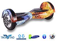 """Гироборд Smart Balance Wheel 8"""" TaoTao Огонь и лёд"""