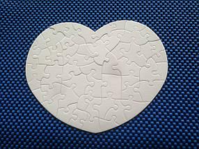 Пазлы для сублимации сердце для планшетного термопресса , фото 3