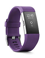Fitbit Charge 2 HR + Fitness Wristband Plum (Размер L/G) (FB407STEL-EU)