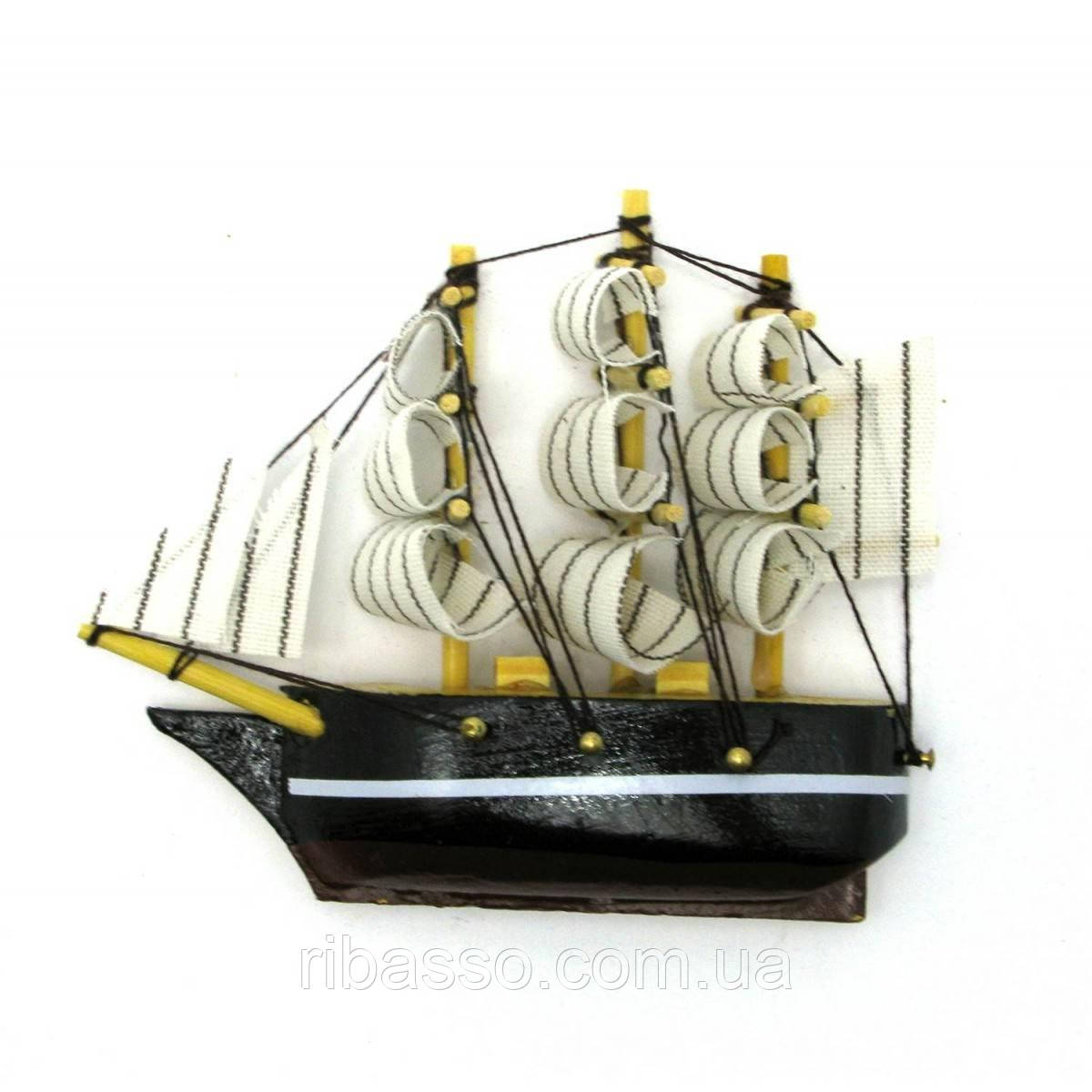"Магнит ""Корабль"" 9,5х8,5х2 см 28420"
