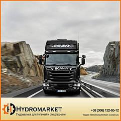 Комплект гидравлики на тягач Scania