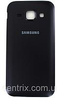Задняя крышка для Samsung J100H Galaxy J1, черная, оригинал