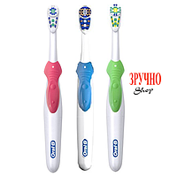 Зубная щетка Oral-B Cross Action 3D White на батарейке, B1010F