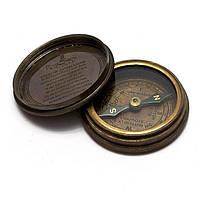 "Компас ""Beatles"" бронза d-6,h-2 см 26575"