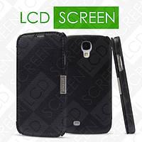 Чехол iCarer для Samsung Galaxy S4 Business Black (side-open) (RS950006)