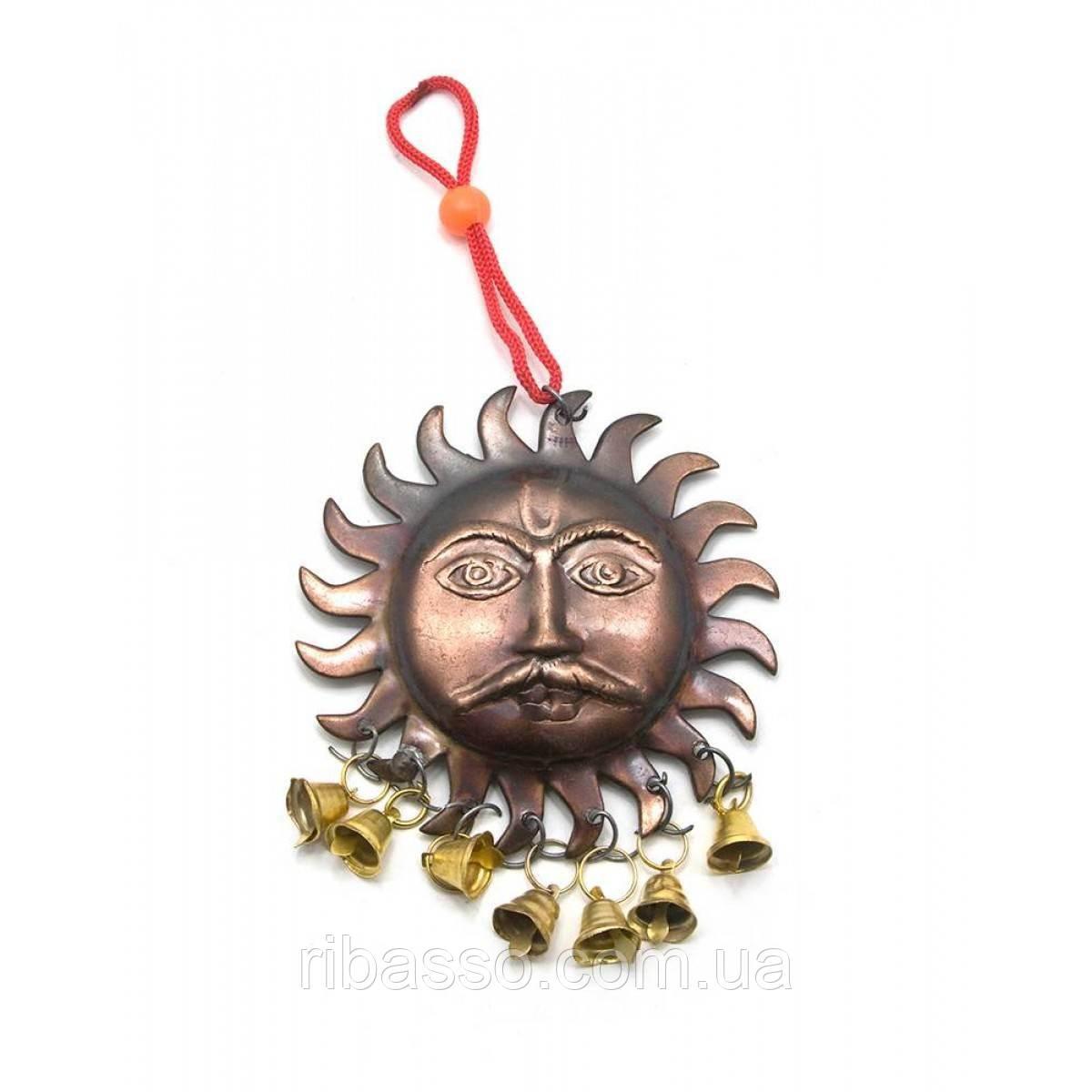 """Колокольчик """"Солнце"""" 8,5х18 см 10шт/уп 25933"""