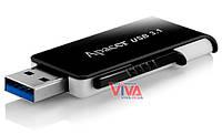 USB флешка Apacer AH350 32Gb USB 3.0 Black, фото 1