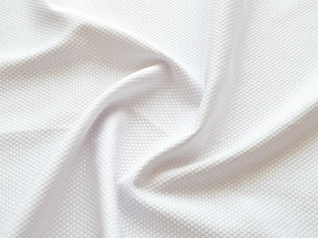 Скатертная TS-320v7 Пике Белая ширина 320см Турция, фото 2