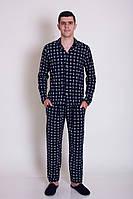 Пижама мужская в полоску со штанами