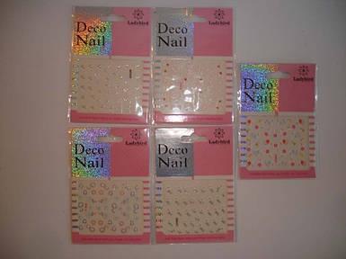 Наклейки для ногтей Ladybird deco nail