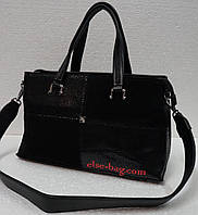 Женская сумка Velina Fabiana c натуральным замшем