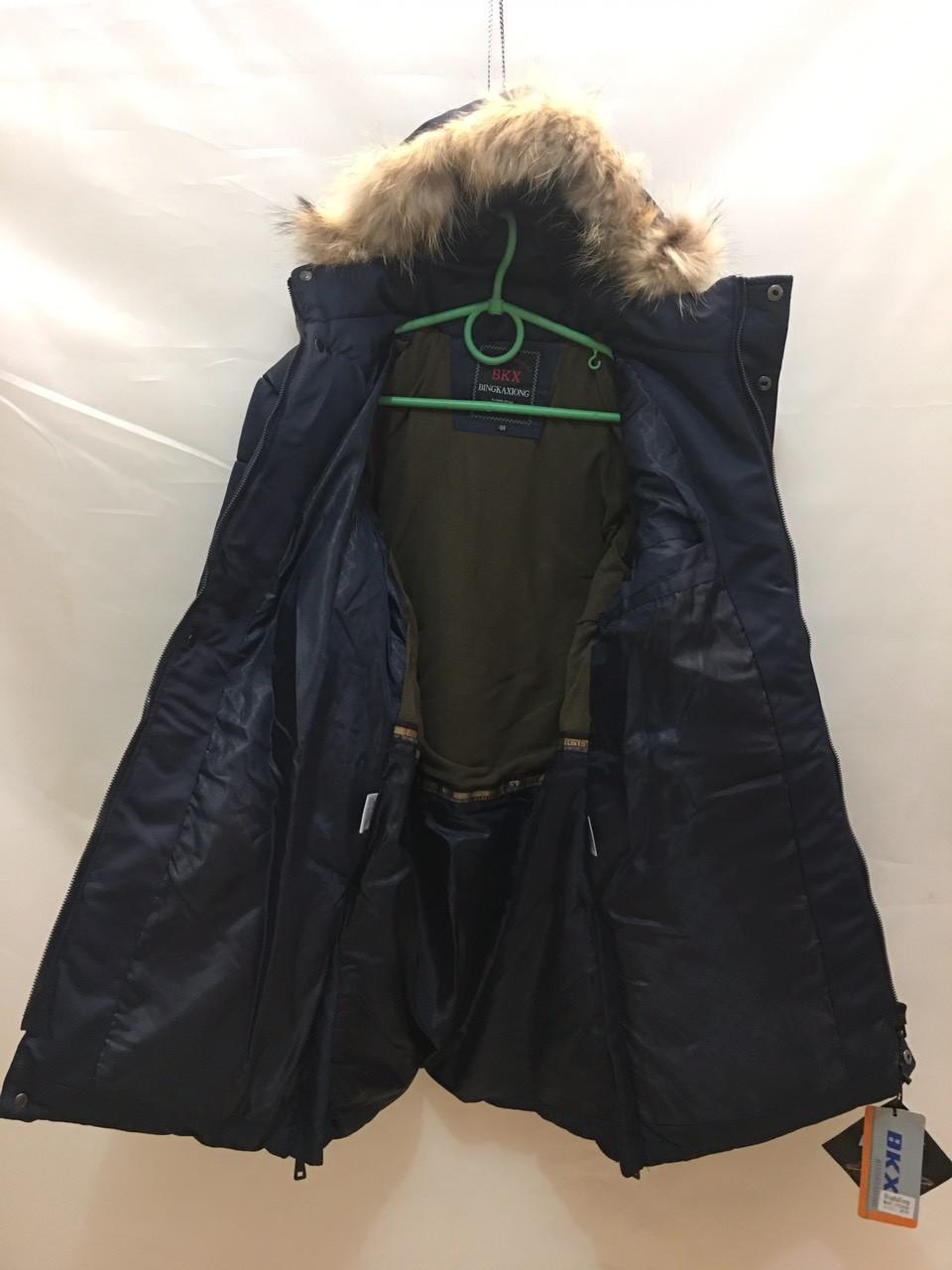 Подростковая зимняя куртка для мальчика 10-16 лет