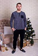 Комплект мужской велюровый со штанами