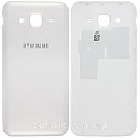 Задняя крышка для Samsung J500H Galaxy J5 (2015), белая, оригинал