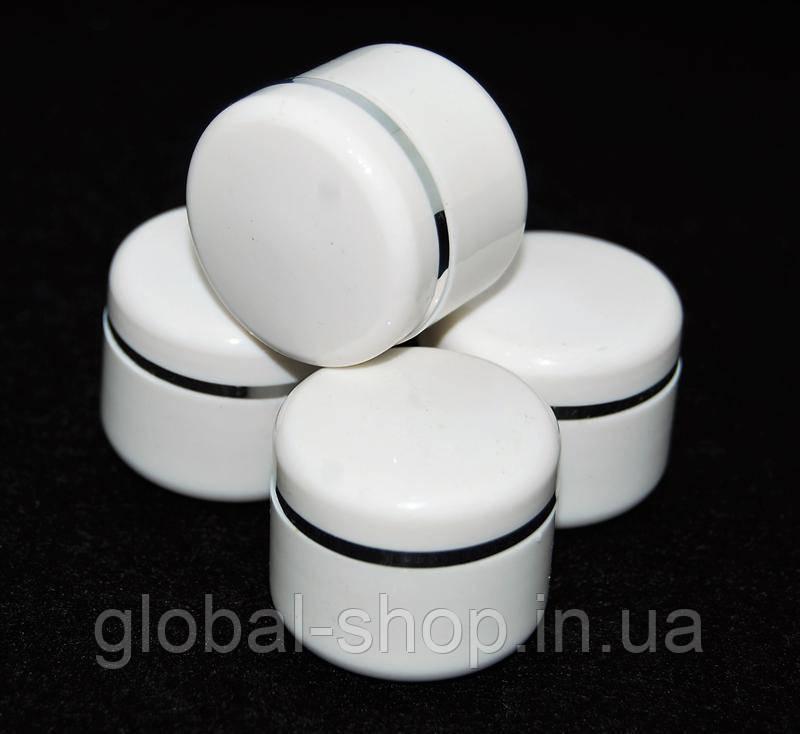 Баночка пустая для жидкостей ,материалов для ногтей  5мл (шт.), 5 видов