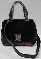 Женская сумка Velina Fabiana с клапаном из замша